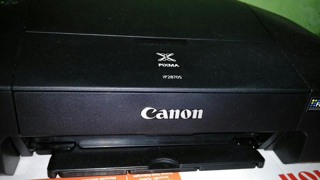 cara mengisi tinta canon