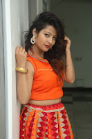 Shubhangi Bant in Orange Lehenga Choli Stunning Beauty ~  Exclusive Celebrities Galleries 011.JPG