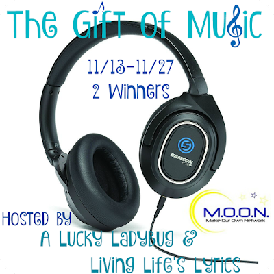 Enter The Gift of Music Giveaway. Ends 11/27.