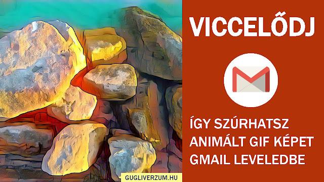 Animált vicces gif képek a Gmail-ben