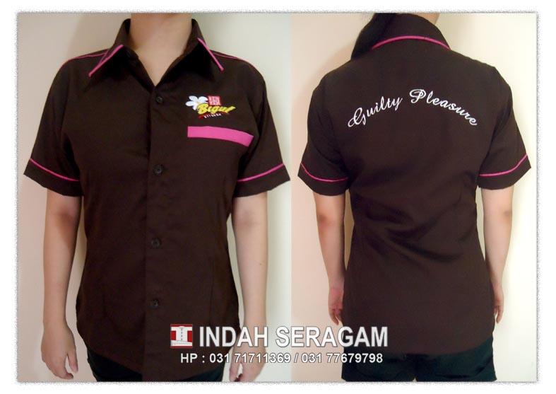 Indah seragam ken ken bigul uniform for Baju uniform spa