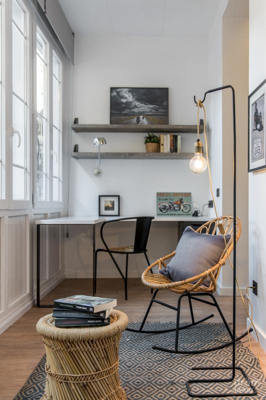 El interior de un piso situado en el Eixample chicanddeco
