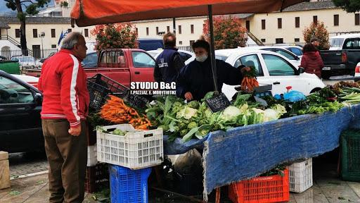 Την Παρασκευή 14 Αυγούστου η λαϊκή αγορά στο Άργος