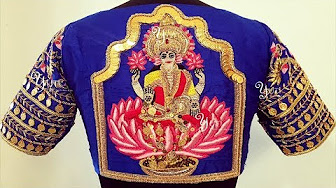 Art Embroidery Thread Work Designer Blouse