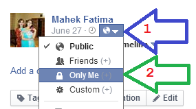 Make Facebook Profile Picture or Photo not Clickable