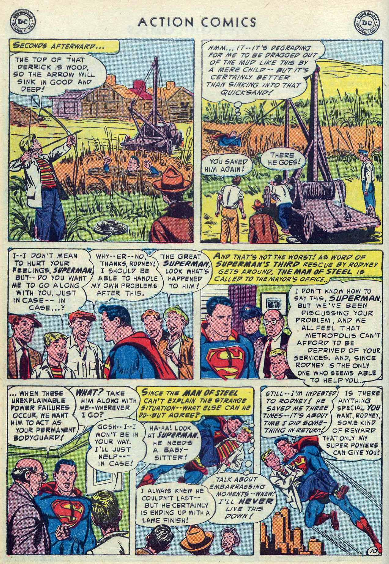 Action Comics (1938) 190 Page 11