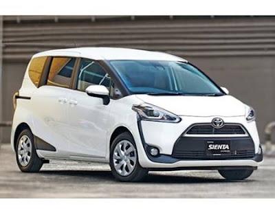 Spesifikasi dan Harga Mobil Toyota Sienta beserta gambarnya terbaru 2018