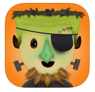 Mask Jumble Apps terror Halloween infantil