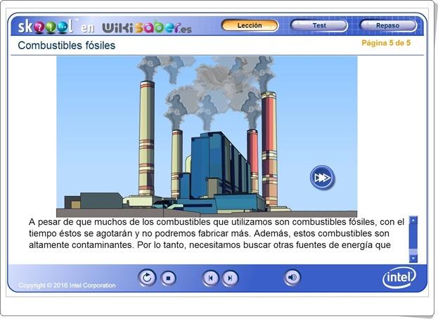 """""""Combustibles fósiles"""" (Ciencias Naturales de Primaria). Wikisaber.es."""