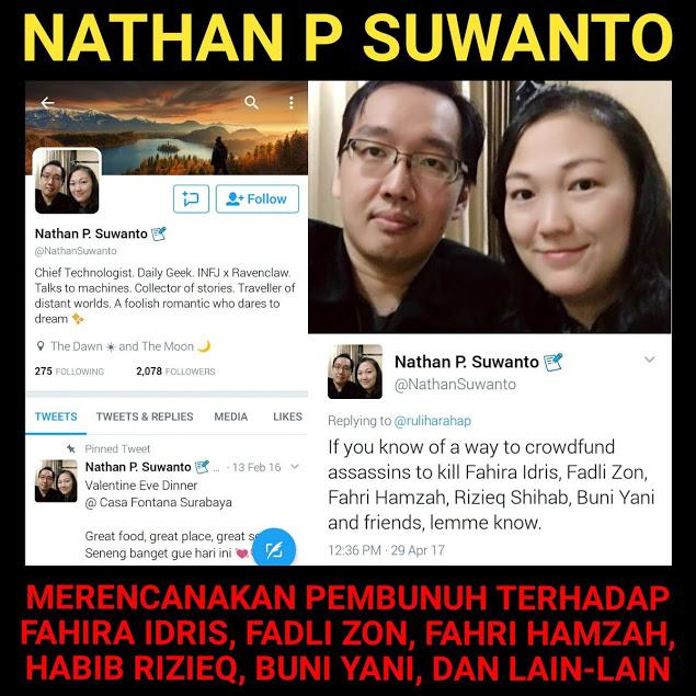 Fadli Zon Akan Polisikan Nathan, Warga Keturunan China Yang Mengancam Pembunuhan, Biar Kapok!