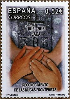 RECONOCIMIENTO DE LAS MUGAS FRONTERIZAS 1513-2013 JACA