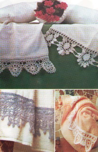 crochet et broderie rima creation n44 special bordure. Black Bedroom Furniture Sets. Home Design Ideas