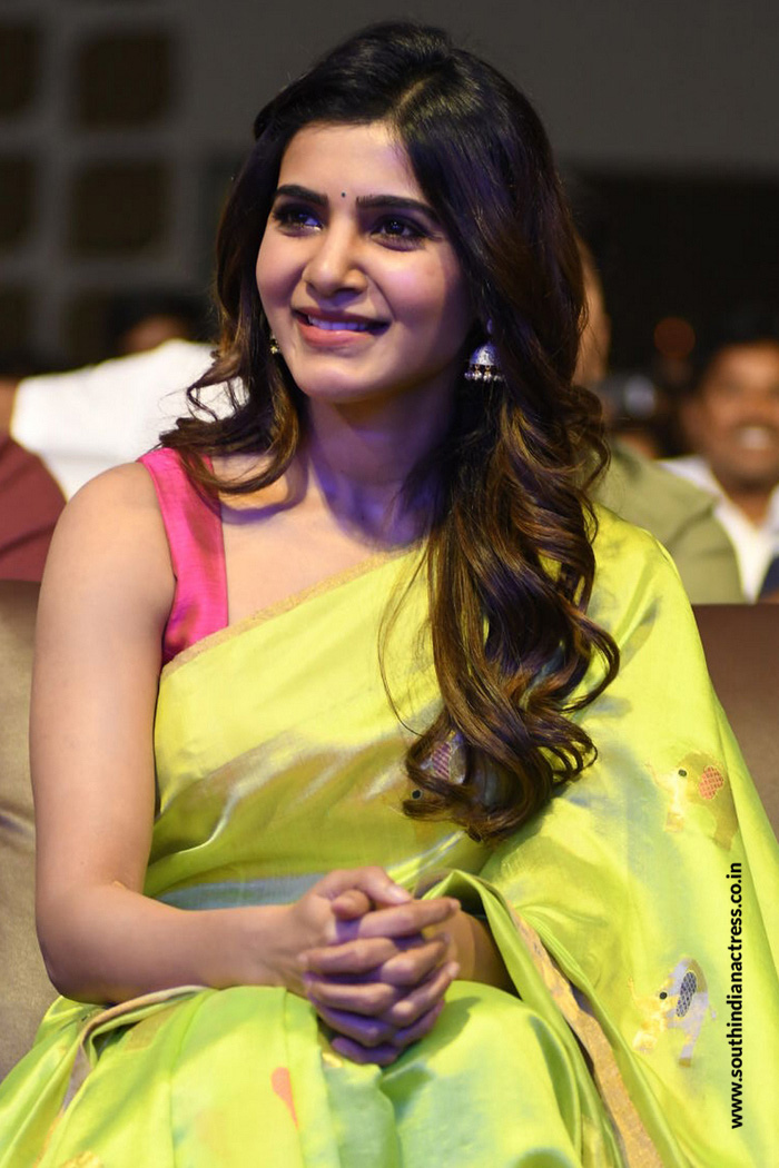 Samantha Stills At Balakrishnudu Movie Audio Launch