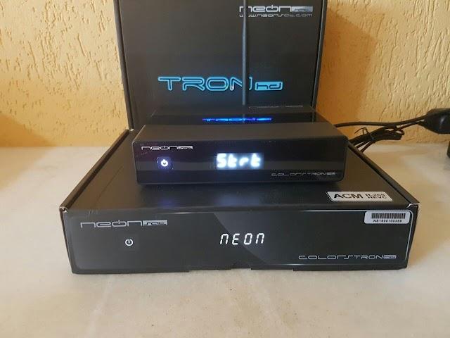 NEONSAT TRON HD NOVA ATUALIZAÇÃO V CT43 - 04/08/2020