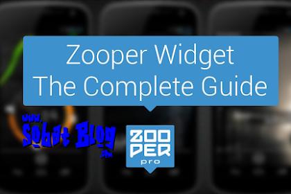 Cara Pasang Zooper Widget + 160 Template
