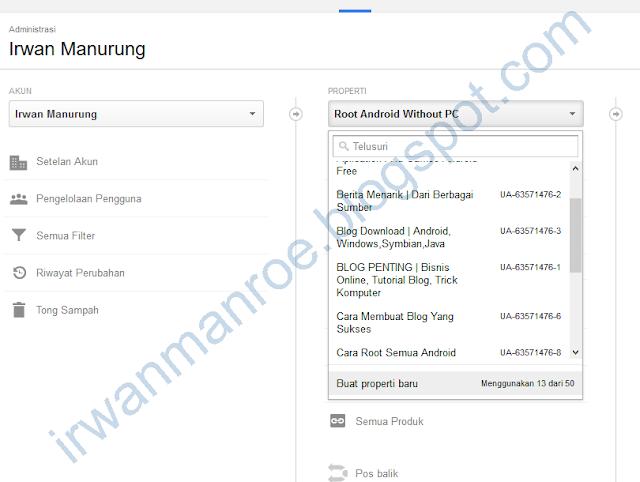 Memasang Kode Google Analytics Untuk YouTube
