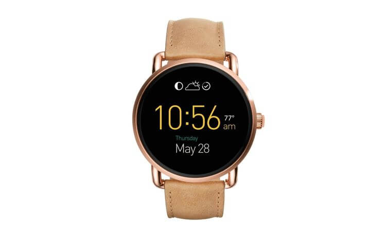 Fossil updates three smartwatches on Android Wear 2.0