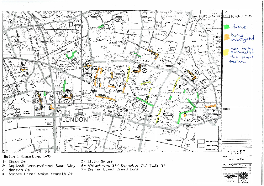 Cyclists in the City: Help us get safer routes for cycling