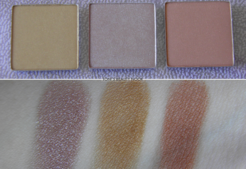 lollipop cosmetics eyeshadows review