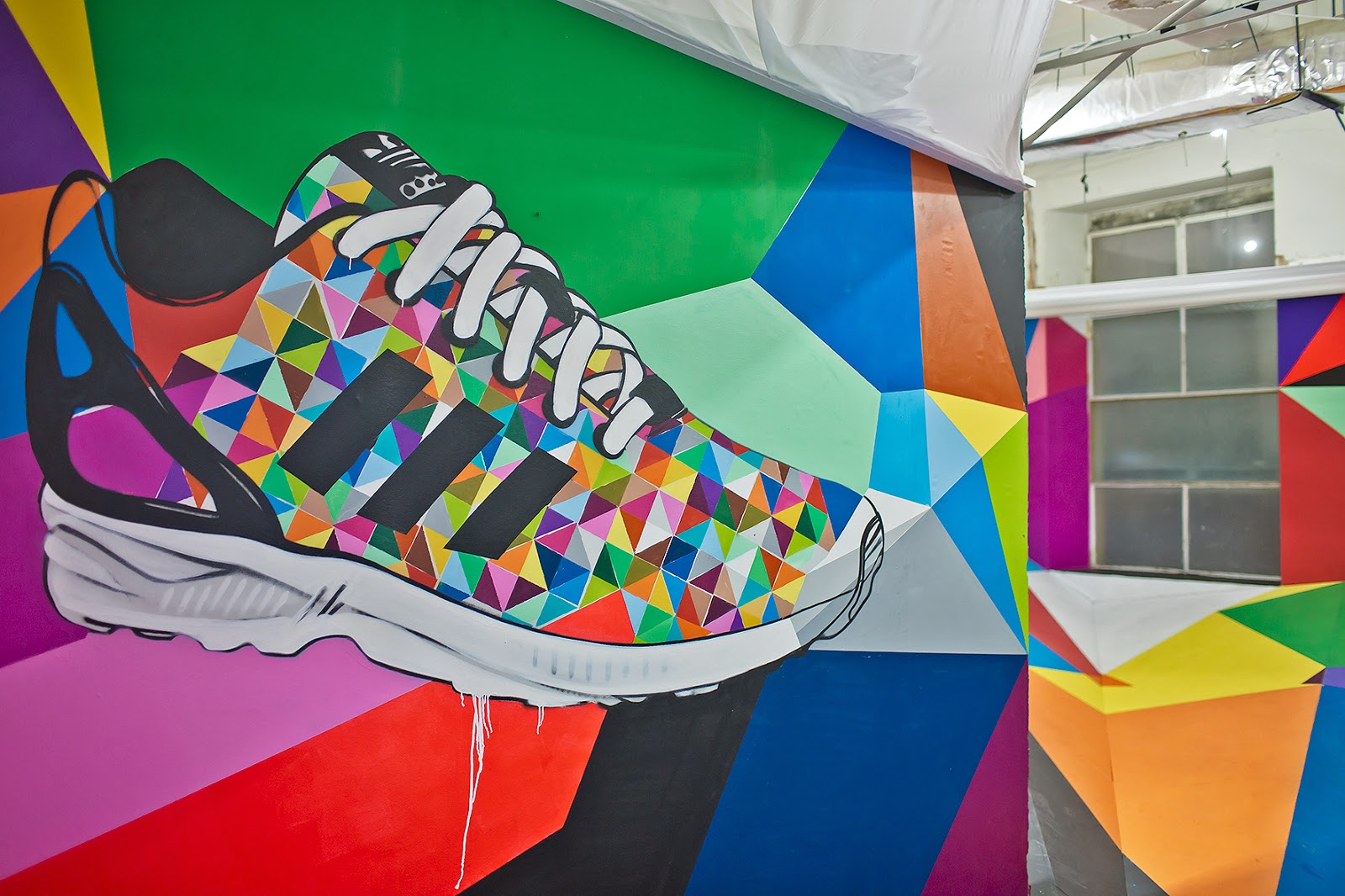 pretty nice f09b3 a9c2e I Dig Your Sole Man: adidas ZX Flux Launch Party; Melbourne