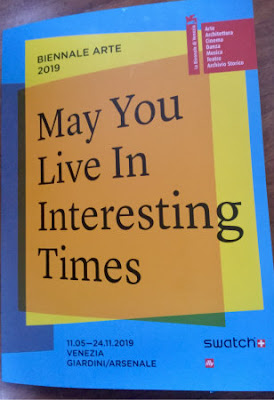 Venice Biennale Art Exhibition 2019  May You Live in Interesting Times  - The Press Conference