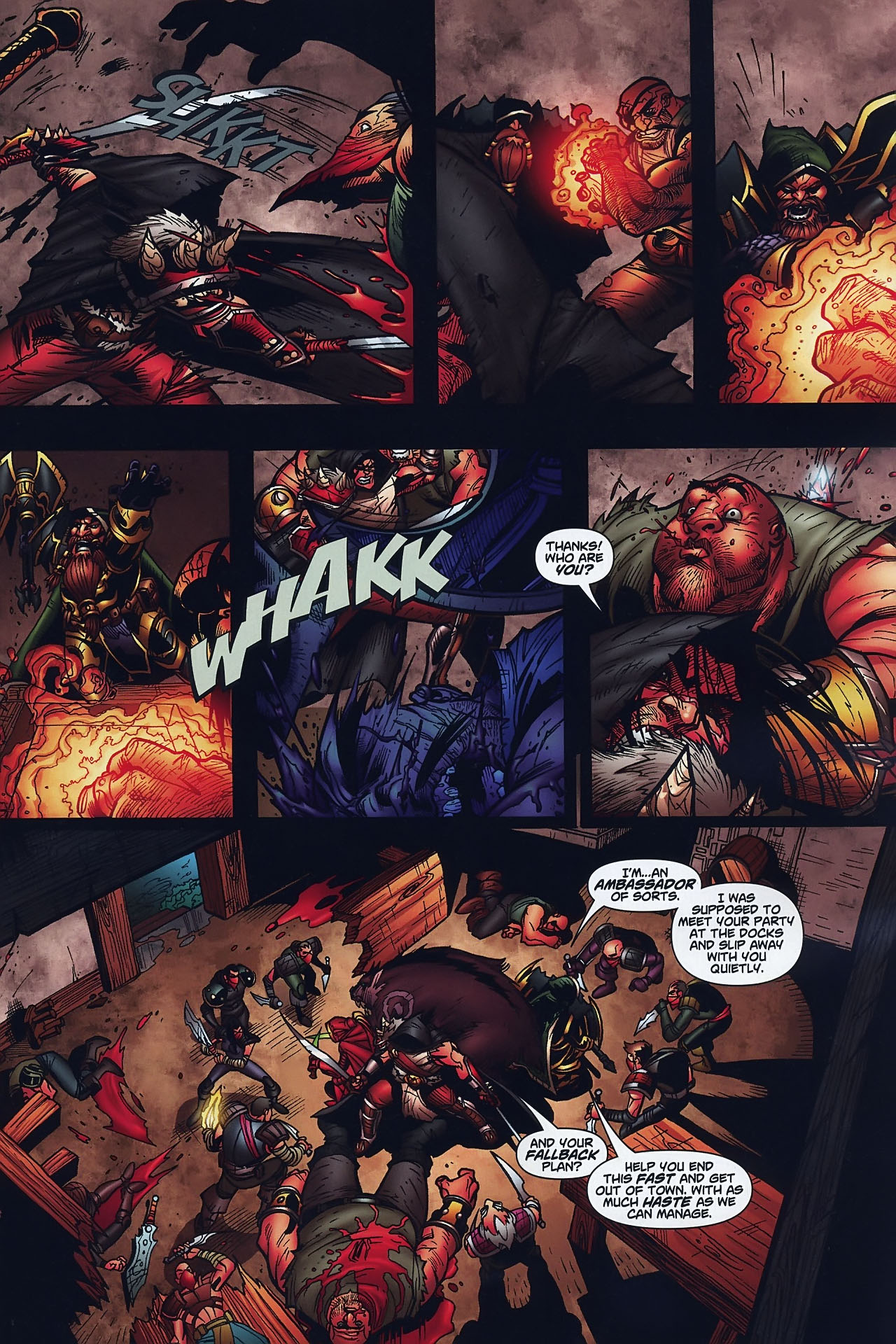 Read online World of Warcraft comic -  Issue #8 - 14