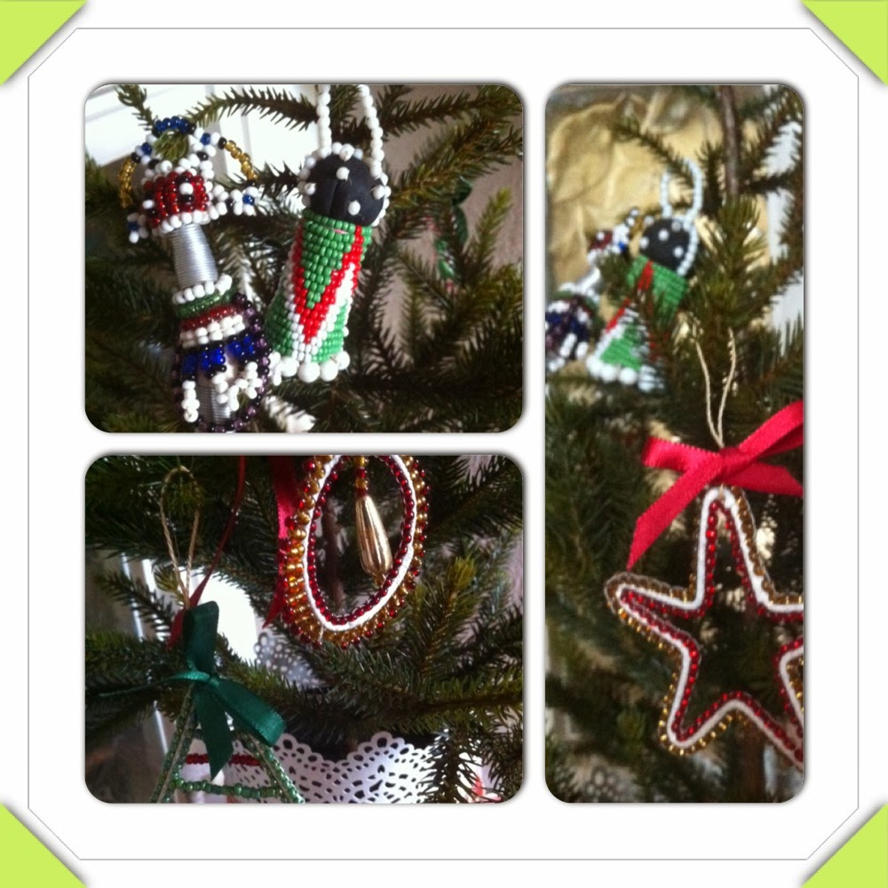 Dee At The Carlton: Eclectic Christmas Decorations At Home
