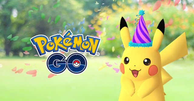 Pokemon GO Celebrates First Birthday