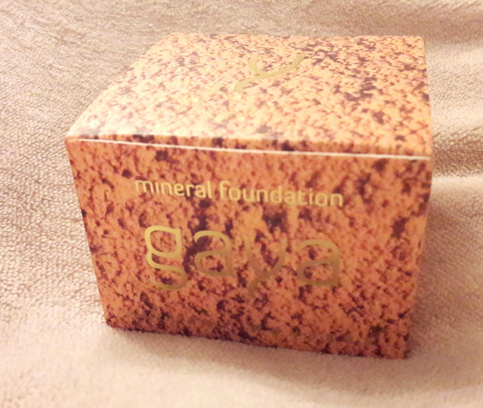 svea testet produkte gaya mineral foundation make up. Black Bedroom Furniture Sets. Home Design Ideas