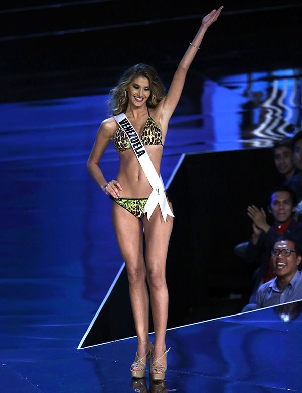 Miss Universe candidate Mariam Habach from Venezuela