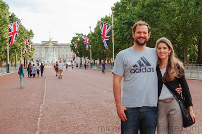 Palácio de Buckingham ao fundo, Londres, Inglaterra