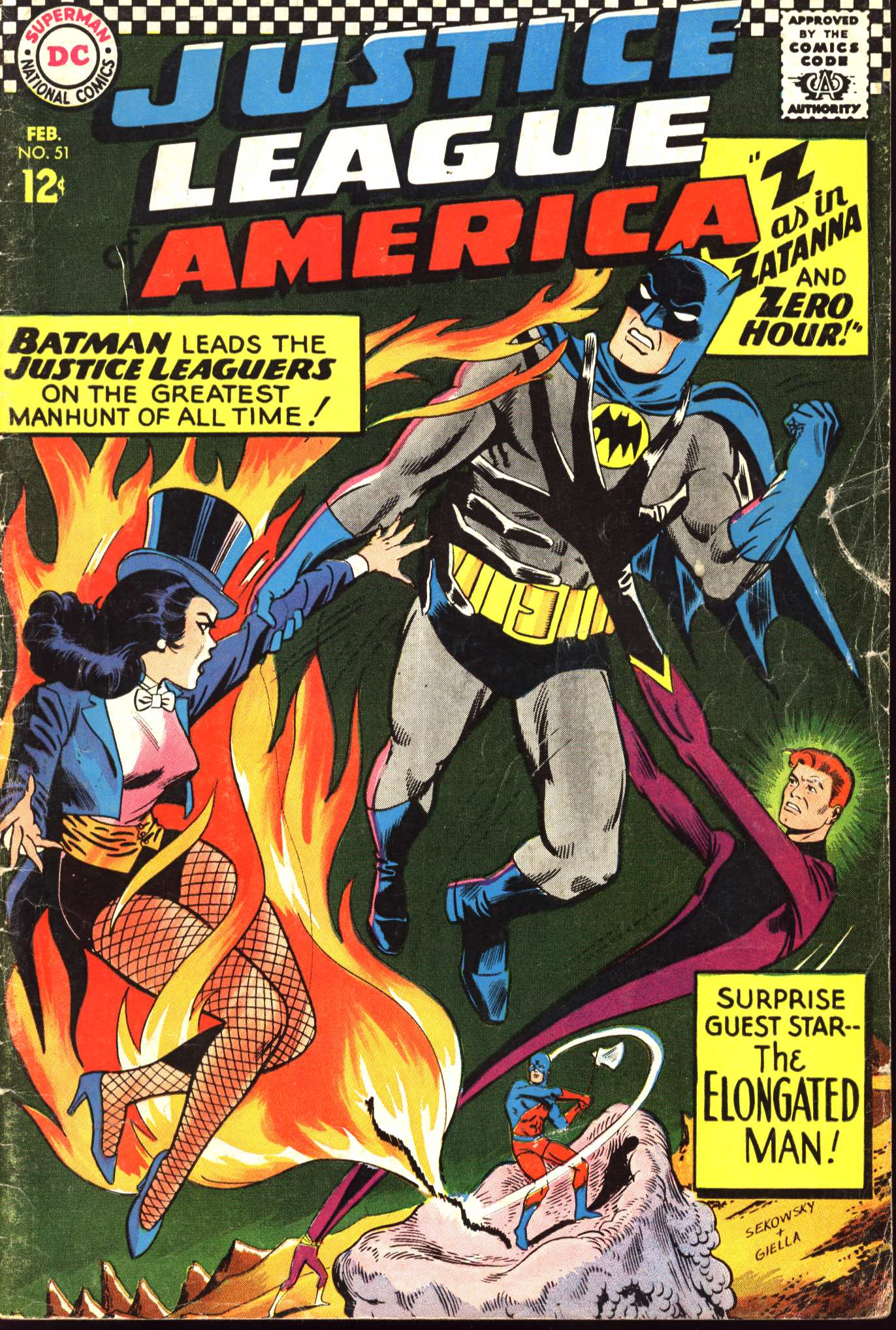 Justice League of America (1960) 51 Page 1