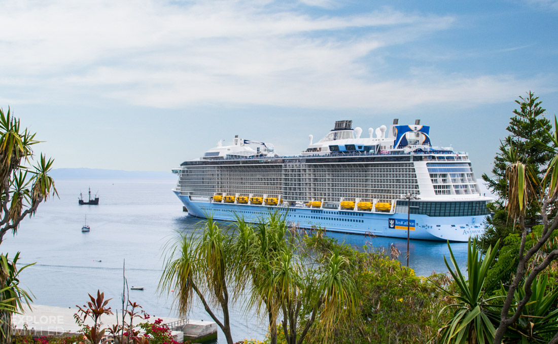 Anthem of the Seas in Funchal Madeira