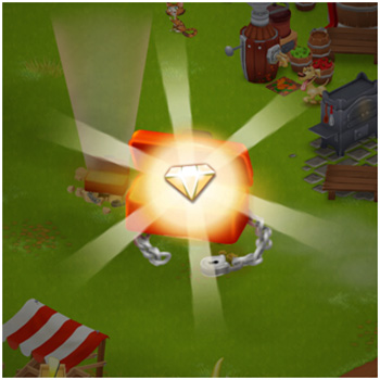 get free diamond for Hay Day