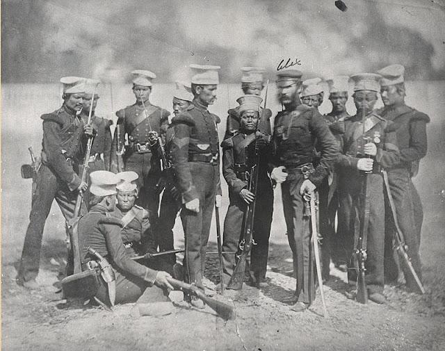 1st Gurkha Rifles, 1857