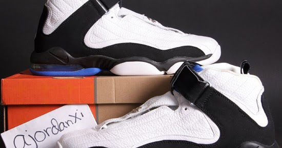 794bc46948b6 ajordanxi Your  1 Source For Sneaker Release Dates  Nike Air Penny IV White  Black-Varsity Royal (2006)