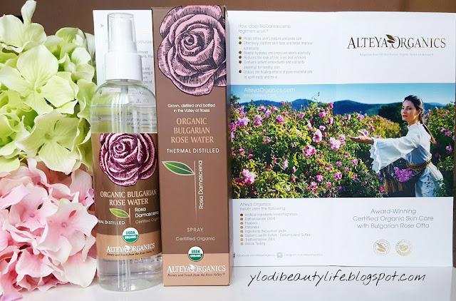 organic bulgarian rose water alteya organics