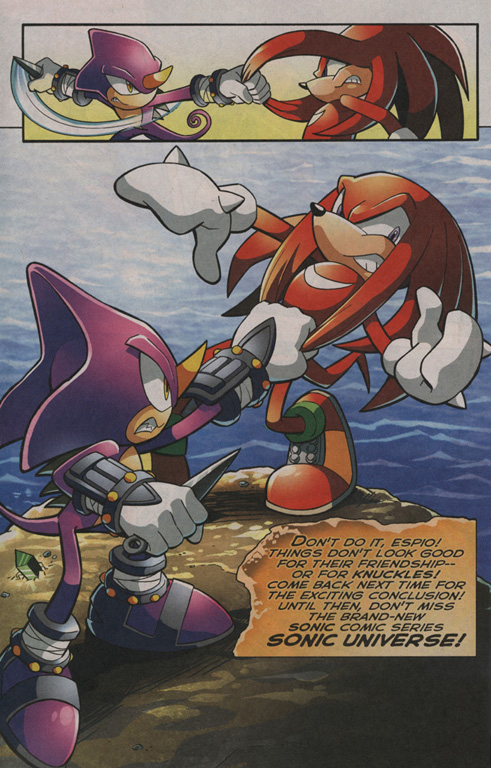 Read online Sonic The Hedgehog comic -  Issue #203 - 23