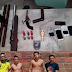 ROCAM apreende armas artesanais e prende suspeitos durante operação