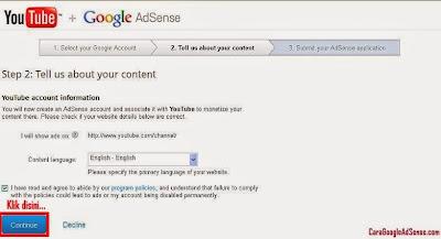 Cara Daftar Adsense Agar Diterima Dalam 1 Jam