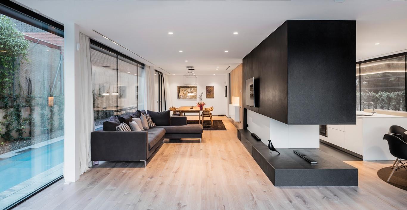 Casa sostenible de dise o arquima revista arquitectura y dise o inspirate con nuestros for Diseno de interiores de casas de dos plantas