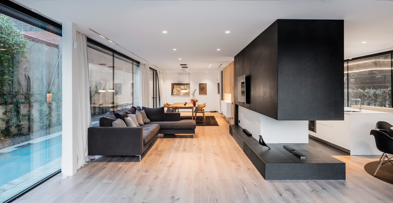 Casa sostenible de dise o arquima revista arquitectura for Diseno casa planta baja