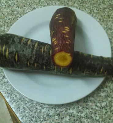 zanahoria morada