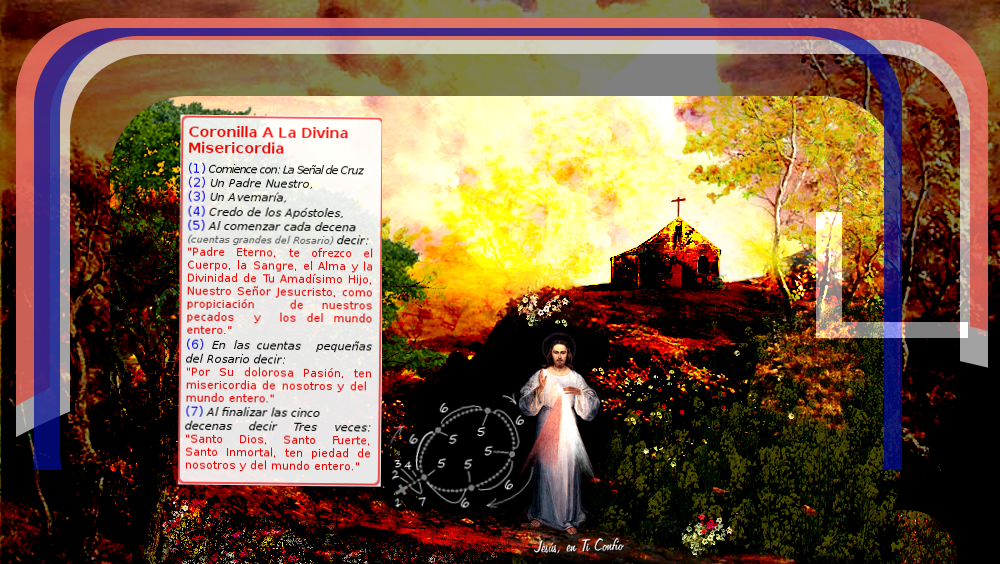 coronilla divina misericordia