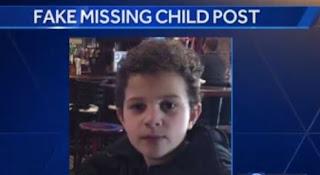 FAKE 'missing child alert' goes viral on Facebook