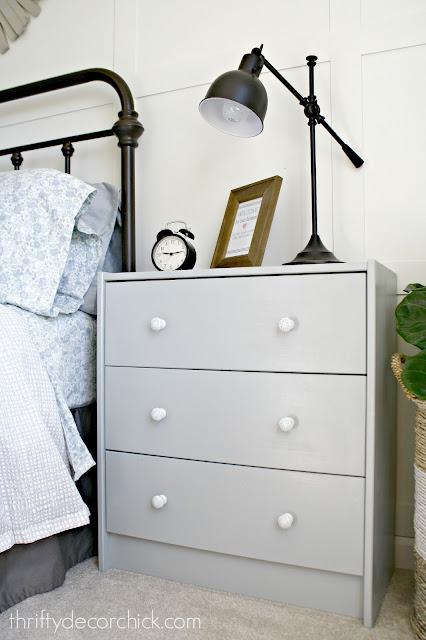 IKEA Rast dresser makeover