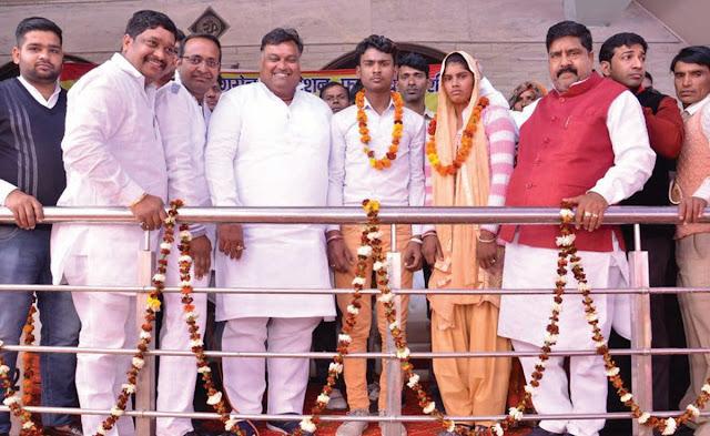 Organizing an introduction conference by Shri Maharaja Agarsain Foundation in Sarai Khwaja