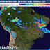 BAHIA / Alerta de chuva forte e volumosa, com potencial para granizo, raios e ventos intensos com rajadas de 80km/h para a Bahia