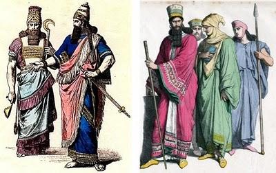Vestuário mesopotâmico Assírios  a9e8c55cf3b