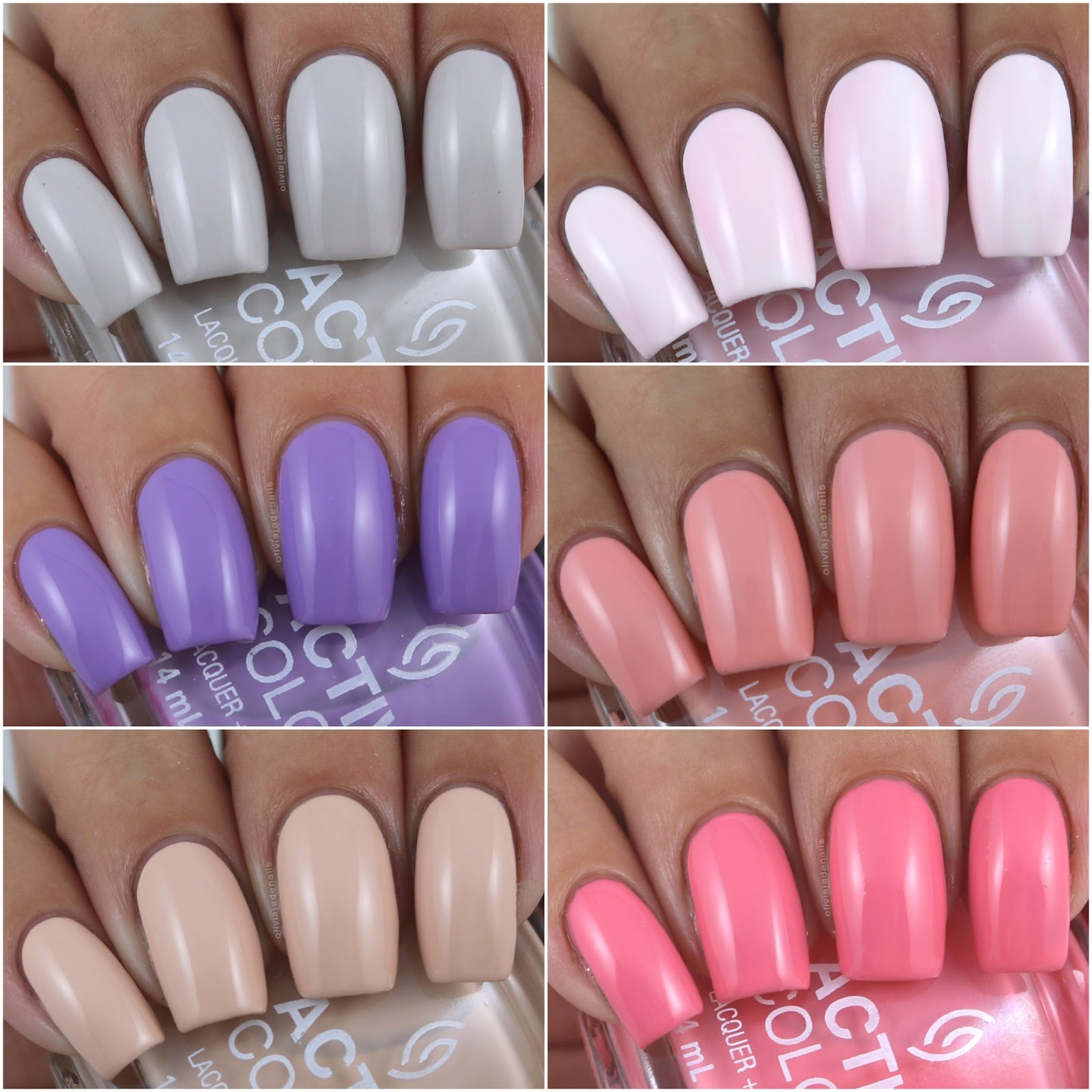 Olivia Jade Nails: China Glaze Active Colour Collection - Swatches ...